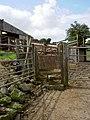Footpath through Pentre Farm. - geograph.org.uk - 833507.jpg