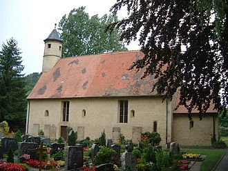 Forchtenberg - The ancient Church in Wülfingen, former home to the community of Forchtenberg