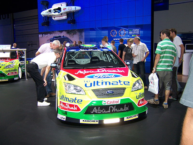 Ford rally car wiki for Ford motor company driver education series