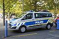 Ford Transit. 2014 IAA. Police car. Free image Spielvogel.JPG