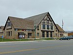 Former Midway Town Hall (angle view), Apr 16.jpg