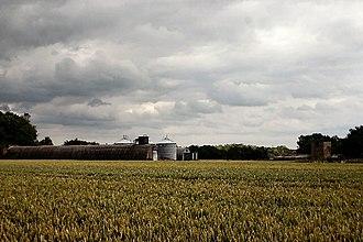 Alpheton - Former airfield buildings at Clapstile Farm