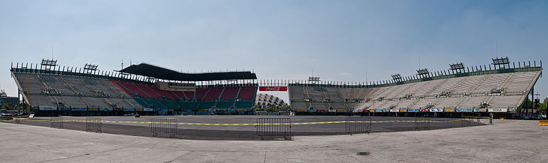 Panorama Of Foro Sol