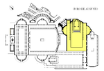 Plan of the Forum Augustum (in yellow) Foro de Augusto-planta.png