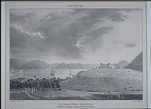 Banda Islands - Fort Belgica in 1824