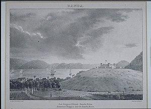 Banda Islands - Fort Belgica in 1824