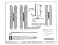 Fort Frederica, Francis Moore House (Ruins), Lot No. 20, North Ward, Saint Simons Island, Glynn County, GA HABS GA,64-FRED,13- (sheet 3 of 3).png