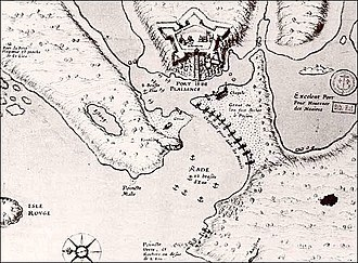Fort Plaisance - Fort Plaisance in 1675