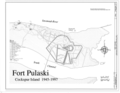 Fort Pulaski, Cockspur Island, Savannah, Chatham County, GA HABS GA,26-SAV.V,2- (sheet 5 of 5).png