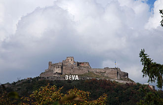 Romania in the Middle Ages - Ladislaus Kán's fortress at Deva