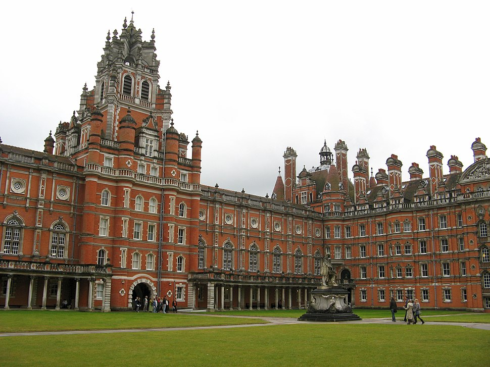 Founder's Building, Royal Holloway, south quad