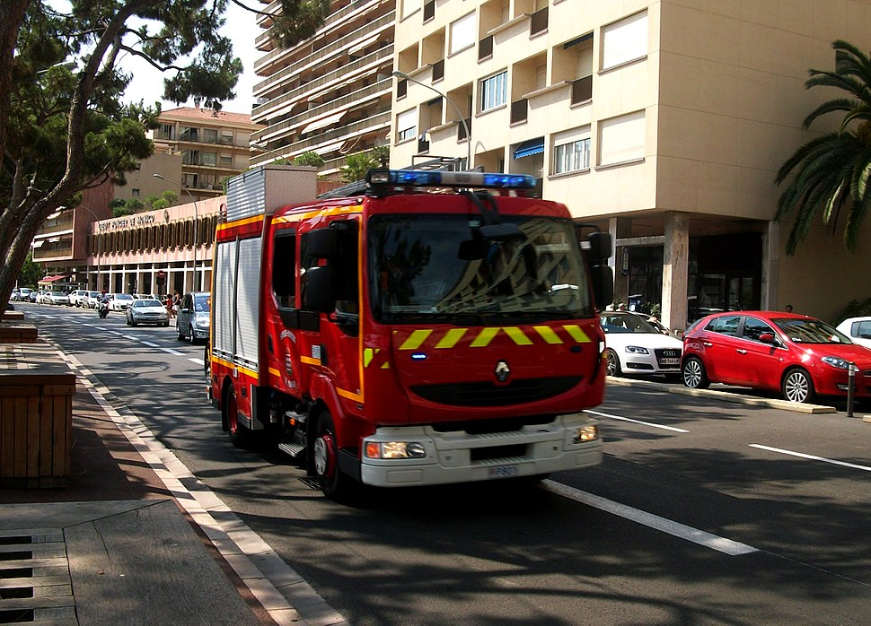 Fourgon incendie Pompiers de Monaco