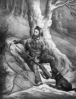 The coureurs des bois were French Canadian fur traders, who did business with natives throughout the Mississippi and St. Lawrence watershed. Francois Mercier, voyageur canadien.jpg