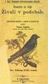 Fran Erjavec - Domače in tuje živali v podobah - 1. del Domače četveronožne živali.pdf