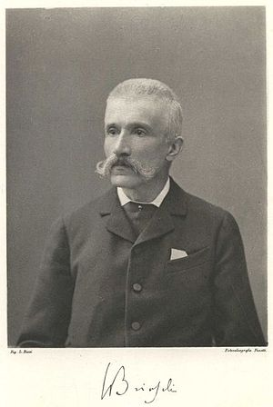 Polytechnic University of Milan - Francesco Brioschi (1824-1897), founder and first rector of the Politecnico.