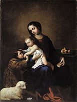 Francisco de Zurbarán - The Virgin and Child with the Infant St John the Baptist - Google Art Project.jpg