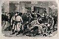 Franco-Prussian War; Civil unrest in Paris. Wood engraving a Wellcome V0015461.jpg