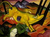 Franz Marc-The Yellow Cow-1911.jpg