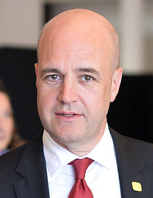 Swedish general election, 2014 - Image: Fredrik Reinfeldt 2014 07 16