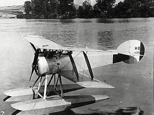 French Navy Hanriot HD.2 floatplane on the water.jpg