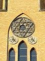 Friedenskirche Leipzig Gohlis - Hexagramm.JPG