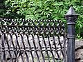 Friedländerska kyrkogården wrought iron gate 02.jpg