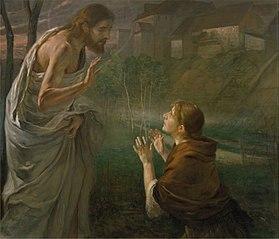 Touch me not. John 20:17