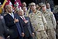 From left, Vice President Joe Biden, Secretary of Defense Robert M. Gates, Chairman of the Joint Chiefs of Staff Navy Adm. Mike Mullen and U.S. Marine Corps Gen. Gen. James Mattis, the commander of U.S. Central 100901-N-TT977-147.jpg