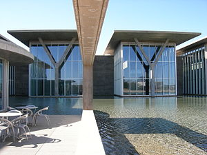 Tadao Ando - Modern Art Museum of Fort Worth, Fort Worth, Texas