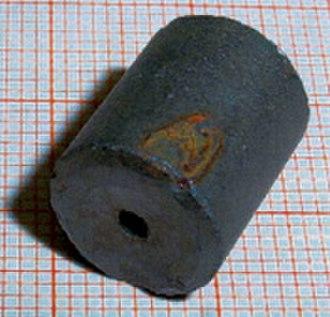 Uranium dioxide - Image: Fuel Pellet 1