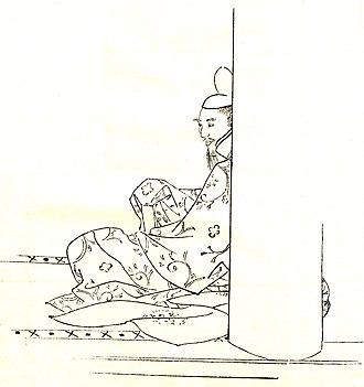 Fujiwara no Mototsune - Mototsune by Kikuchi Yōsai