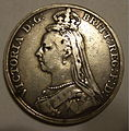 GREAT BRITAIN, VICTORIA 1889 -CROWN b - Flickr - woody1778a.jpg
