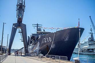 HMAS Kuttabul (naval base) - Image: Garden Island, New South Wales (1)