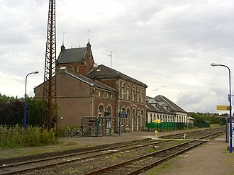 Gare de Lauterbourg - Station building, platforms and tracks of Lauterbourg station.