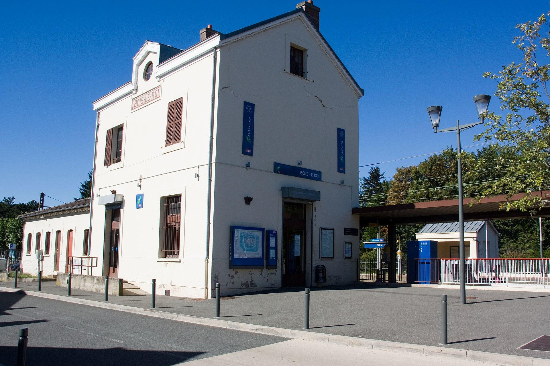 Gare de Bois le Roi u2014 Wikipédia # Triathlon Bois Le Roi