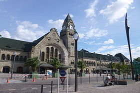 image illustrative de l'article Gare de Metz-Ville