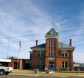 Garfield County, Utah - Image: Garfield County, Utah courthouse