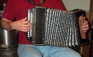 Garmon kind of Russian button accordion