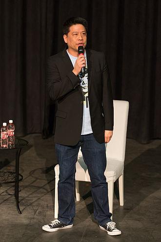 Garrett Wang - Garrett Wang interacts with the audience at his panel at the Calgary Expo 2015.