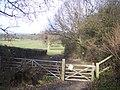 Gate on Coopers Lane - geograph.org.uk - 1690977.jpg