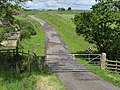 Gated road near Ravenshaugh - geograph.org.uk - 485824.jpg