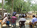 Gathering in a meeting of villagers in an Bangladeshi village 2015 13.jpg