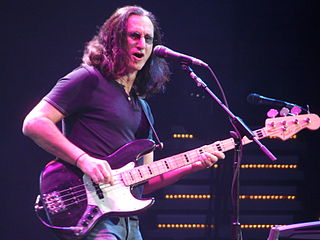 Geddy Lee vocalist, bassist, and keyboardist for the Canadian rock group Rush