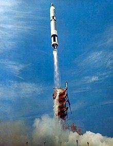e73a8b57d6 A Gemini-Titan launch vehicle lofts Gemini 8 into orbit