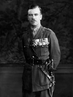 Brian Robertson, 1st Baron Robertson of Oakridge - Robertson as a Major in 1934.
