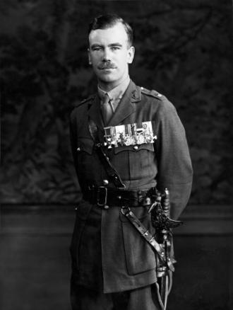 Brian Robertson, 1st Baron Robertson of Oakridge - Robertson as a Major in 1934.