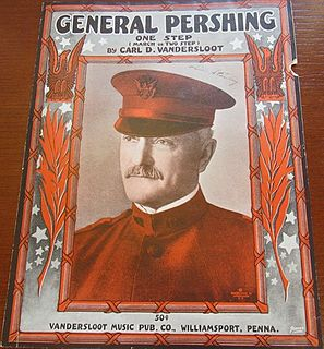 General Pershing: One Step song