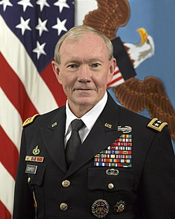 General Martin Dempsey  the chairman of the U S  military s Joint Chiefs of Staff