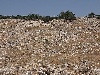 Jarash, Jerusalem - Image: General destruction