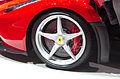 Geneva MotorShow 2013 - Ferrari LaFerrari front wheel.jpg